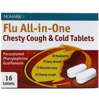 Numark All-in-One Chesty Cough & Cold Tablets 16