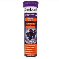 Sambucol Black Elderberry Immuno Forte 15 Effervescent Tablets