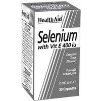 HealthAid Selenium with Vit E 400iu 30 Capsules