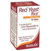 HealthAid Red Yeast Rice 90 Tablets