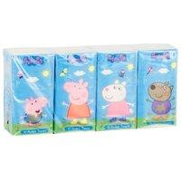 Peppa Pig Pocket Tissues 8 Pack