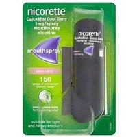 Nicorette QuickMist Cool Berry 1mg/Spray Single