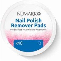 'Numark Nail Polish Remover Pads X40