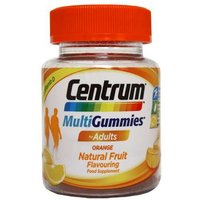 Centrum MultiGummies Adults Orange Flavour 30 Gummies
