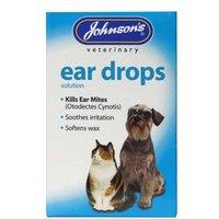 Johnson's Veterinary Ear Drops Solution 15ml