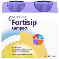 Fortisip Compact Vanilla Sabor Vanilla 4x125ml