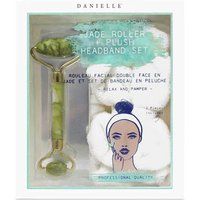 Danielle Creations Jade Roller and Plush Headband Set