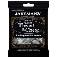 Jakemans Original Throat and Chest Soothing Menthol Sweets 100g