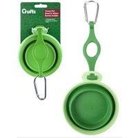Crufts Travel Pet Bowl & Water Bottle Holder