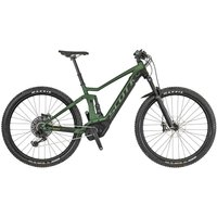 E-MTB Fully E-Mountenbike Scott Strike eRide 710 Grün