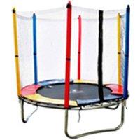 Cama Elastica Pula Pula Kids 1,83m Henri Trampolim C/ Ziper Preta