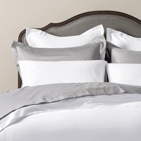 Luxury Plain Linen - Fitted Sheet (Extra Extra Deep) King Ivory