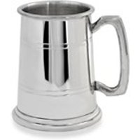 Pewter Extra Heavy One Pint Tankard - A3810