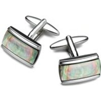 Smoky Mother Of Pearl Cufflinks - A5316