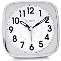 Widdop White Alarm Clock - C0662