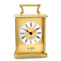 Widdop Gilt Carriage Clock - C1702