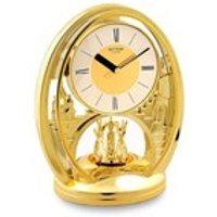Rhythm Gilt Anniversary Clock - C1869
