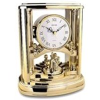 Rhythm Gilt Musical Anniversary Clock - C1870