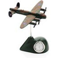 Miniature Avro Lancaster Bomber Clock - C2905