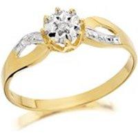 9ct Gold Diamond Ring - D5137-N