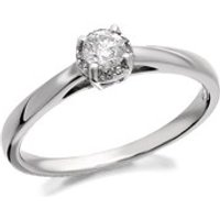 9ct White Gold Diamond Ring -1/4ct EXCLUSIVE - D6814-L