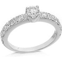 9ct White Gold 1 Carat Diamond Ring - D7271-J