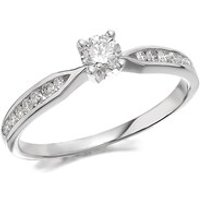 9ct White Gold Diamond Ring - 1/3ct - D7767-J