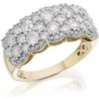 9ct Gold 2 Carat Diamond Band Ring - D9265-O