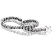 9ct White Gold 2 Carat Diamond Tennis Bracelet - D9876