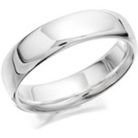 Silver Band Ring - 5mm - F4859-M