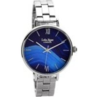 lola rose lr4001 sapphire agate stainless steel bracelet watch  w0336