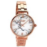 lola rose lr4002 howlite rose gold plated bracelet watch  w0337