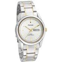 Pulsar PJ6023X1 Two Tone Bracelet Watch - W4163
