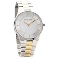 police 14640mstg/28m splendor two tone bracelet watch  w4461