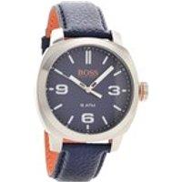 hugo boss orange 1513410 cape town blue leather strap watch  w45102