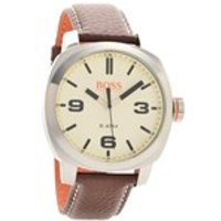hugo boss orange 1513411 cape town brown leather strap watch  w45103