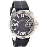 hugo boss orange 1513285 black resin strap watch  w45109