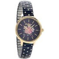 cath kidston ckl009ug richmond rose polka dot expanding bracelet watch  w5656