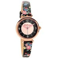 cath kidston ckl020brg kew sprig leather strap watch  w5693