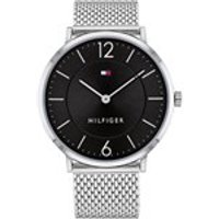 tommy hilfiger 1710355 james stainless steel mesh bracelet watch  w9572