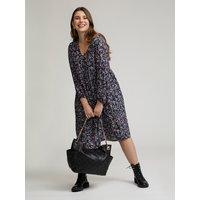 Fiorella Rubino Shopping bag con stelle Donna Nero