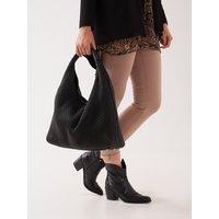 Fiorella Rubino Shopping bag con manico Donna Nero