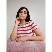 Fiorella Rubino T-shirt a righe Donna Rosa