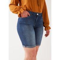 Fiorella Rubino Shorts in denim Donna Blu