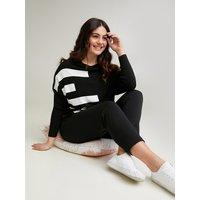 Fiorella Rubino Pantaloni joggers con lacci in vita Donna Nero