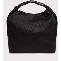 Fiorella Rubino Shopping bag con manico Donna Nero Taglia 02