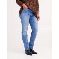 Fiorella Rubino Jeans skinny con strappi Donna Blu