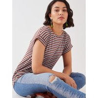 Fiorella Rubino Jeans skinny con applicazioni Donna Blu