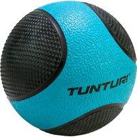 Tunturi medicijnbal 4 kg 23 cm rubber blauw-zwart