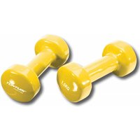 Tunturi-Bremshey Vinyl Dumbbells Yellow 1.5 Kg Set